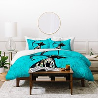 Amy Smith The Archer Duvet Cover