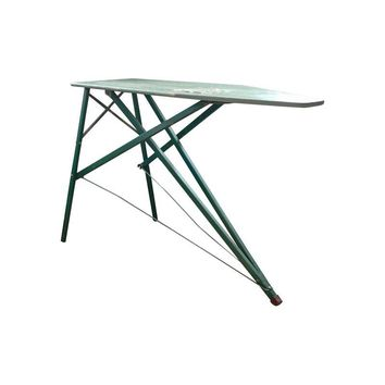 Pre-owned Vintage Green Wooden Ironing Board