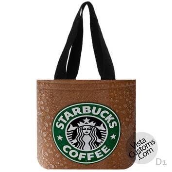 Starbuck Coffee New Hot, handmade bag, canvas bag, tote bag