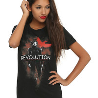 The Hunger Games: Mockingjay Revolution Girls T-Shirt