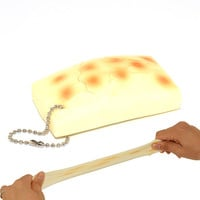 Novel Japan Stretchy Scented Rice Cake Squeeze Decompress Toy Squishy Cellphone Straps