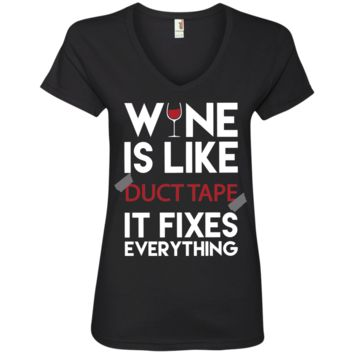 Wine is Like Duct Tape SS Shirt