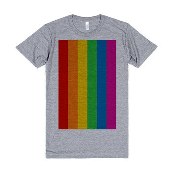 Rainbow Stripe Pride Flag T-shirt