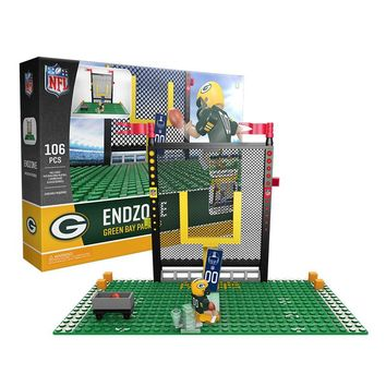 Endzone Set: Green Bay Packers | OYO Sports | NFL Minifigures & Buildables