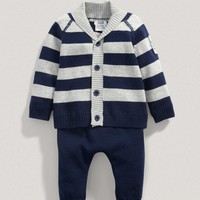 Boys Two Piece Knit Outfit Set