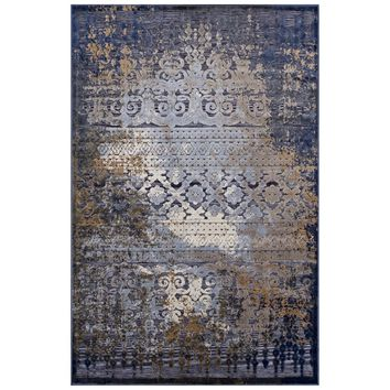 Kalene Distressed Vintage Turkish Area Rug