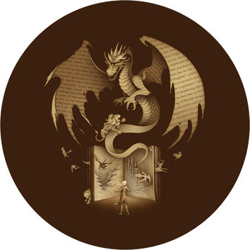 Mysterious Game of the Throne Circle Wall Decal