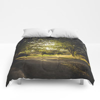 On the road again Comforters by HappyMelvin