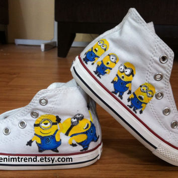 Minion Baby Shoes