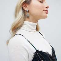 Liars & Lovers Celestial Star Statement Earrings at asos.com
