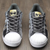 Adidas Shell suede shoes  Silver gray