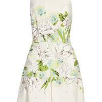 3.1 Phillip Lim Embellished printed silk-georgette mini dress – 60% at THE OUTNET.COM