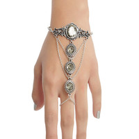 Blackheart Gem & Filigree Hand Harness