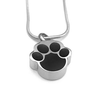 Cremation Necklace, Pet Urn, Dog Paw Urn Locket, Ashes Holder Necklace, Cremation Locket, Memory Locket, Cremation Jewelry