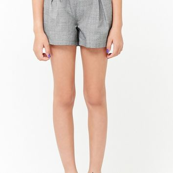 Girls Glen Plaid Shorts (Kids)