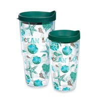 "Tervis® ""Ocean Love"" Wrap Tumbler with Lid"