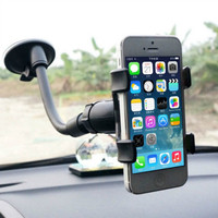 2016 New Universal Rotation Lazy Car Mount Holder Bracket for GPS Mobile Phone