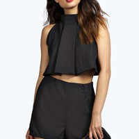 Boutique Tyra Two Piece Zip Off Playsuit