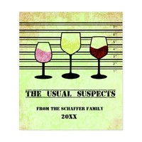 The Usual Suspects, Funny Wine Label
