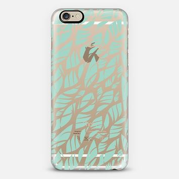 Mint Leaves iPhone 6 case by Pencil Me In | Casetify