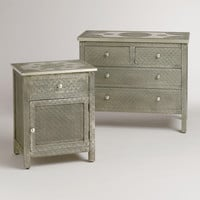 Kiran Embossed Metal Furniture Collection