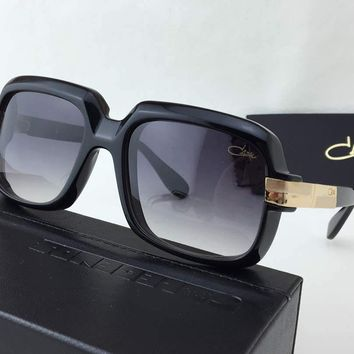 Cazal 607 Sunglasses Black