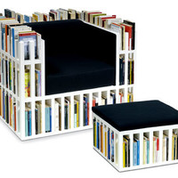 Bibliochaise with matching stool   the style files