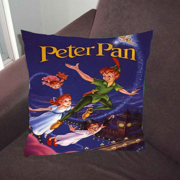 Flying With Peter Pan c996a74d-d53a-4a43-830a-8a26041fc2d4 - Pillow Case, Pillow Cover, Custom Pillow Case *02*