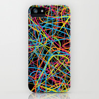 This Is a Drunk Pattern iPhone & iPod Case by Danny Ivan