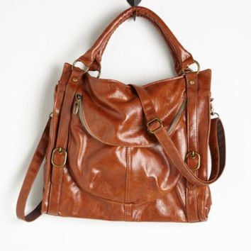 Travel Searching for Sea Glass Bag in Brown by ModCloth