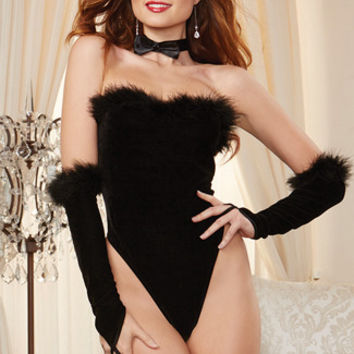 After Eight Bunny Lingerie Costume