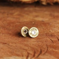 Bourbon & Boweties/Klassy Rounds ~ 38 Special Earrings (Gold)