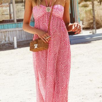 Watercult 2015 Malibu Cover Pink Dress 3004-046-535