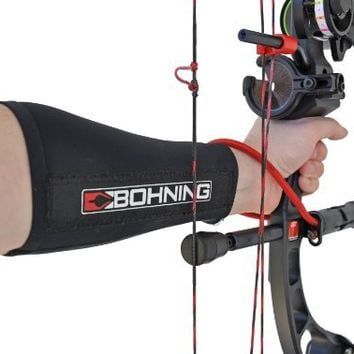 Bohning Archery - SLIP ON ARMGUARD - COMPRESSION SNUG FIT