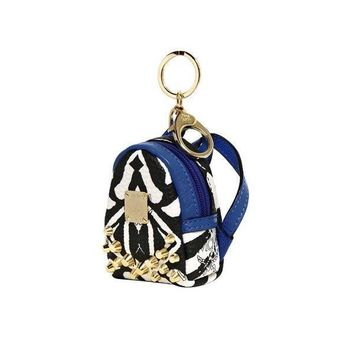 MCM Mini Backpack Key Holder