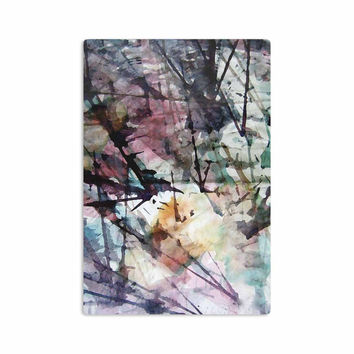 "Malia Shields ""Abstract Trees"" Abstract Painting Aluminum Artistic Magnet"