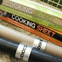 Cookina: Grill Liner& Oven Liner Cooking Sheet
