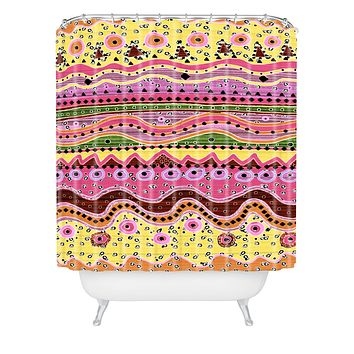 Ingrid Padilla Oh Poppy Shower Curtain