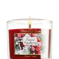 Frosted Cranberry 4 oz. Small Candle   - Slatkin & Co. - Bath & Body Works