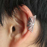 Spider Web Wrap Earring