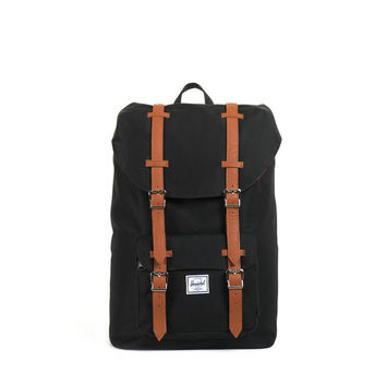Herschel Supply Co. Little America Mid-Size Black