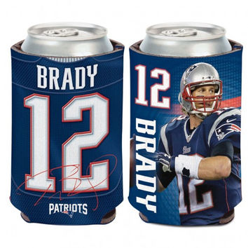 New England Patriots Tom Brady Can Cooler