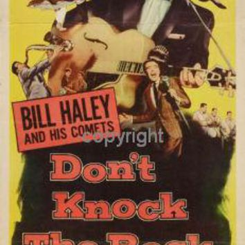 Don'T Knock The Rock Insert Movie Poster 14X36