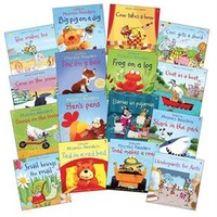 Usborne Books & More. Phonics Readers Complete Library Collection (16)