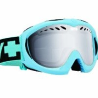 Spy Optic Targa Mini Goggles (Blizzard Blue, Blue with Silver Mirror)