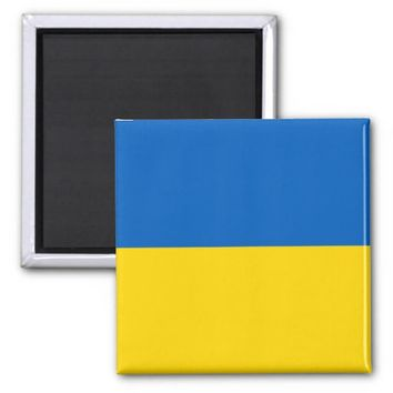 Magnet with Flag of Ukraine