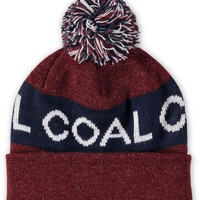 Coal Team Pom Beanie