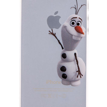 Olaf Transparent Back Cover Case for iPhone 5 & 5S