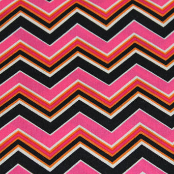Chevron Fabric, by Suede Says, Classic, Edgy, Flirty-How Will Urockit, For Springs Creative, 1 yard, 100% Cotton