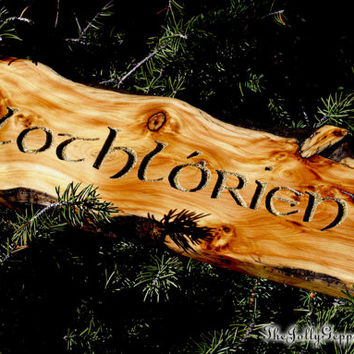 Lothlórien Sign, Tolkien's Lord of the Ring, Elvin Magic, LOTR, Hobbit, Middle Earth, by The Jolly Geppetto